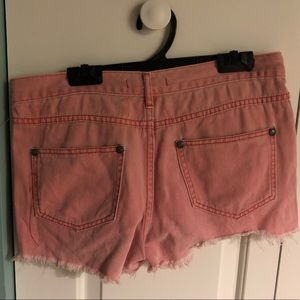 Free People Shorts - Free People cut-off shorts